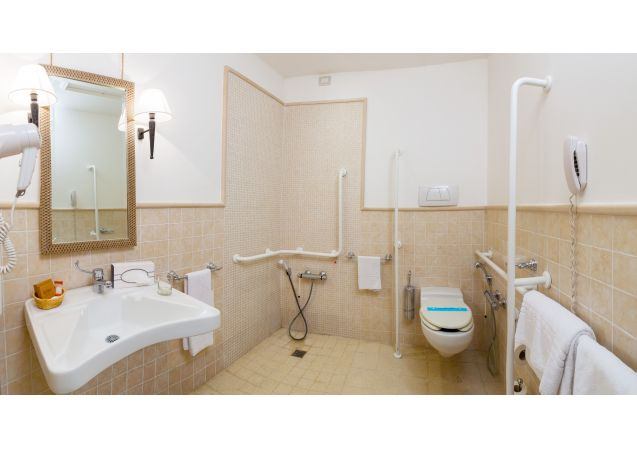 Selva Candida - Twin Room with Disability Access