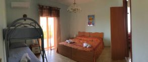 Quadruple Room with Shared Bathroom Villa Kaos Agrigento