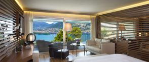 Junior Suite with Balcony THE VIEW Lugano