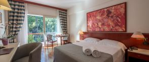 Deluxe Double or Twin Room with Garden View Splendid Hotel La Torre Palermo