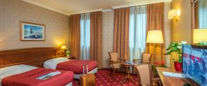 Double room with single beds Hotel Pioppeto Saronno