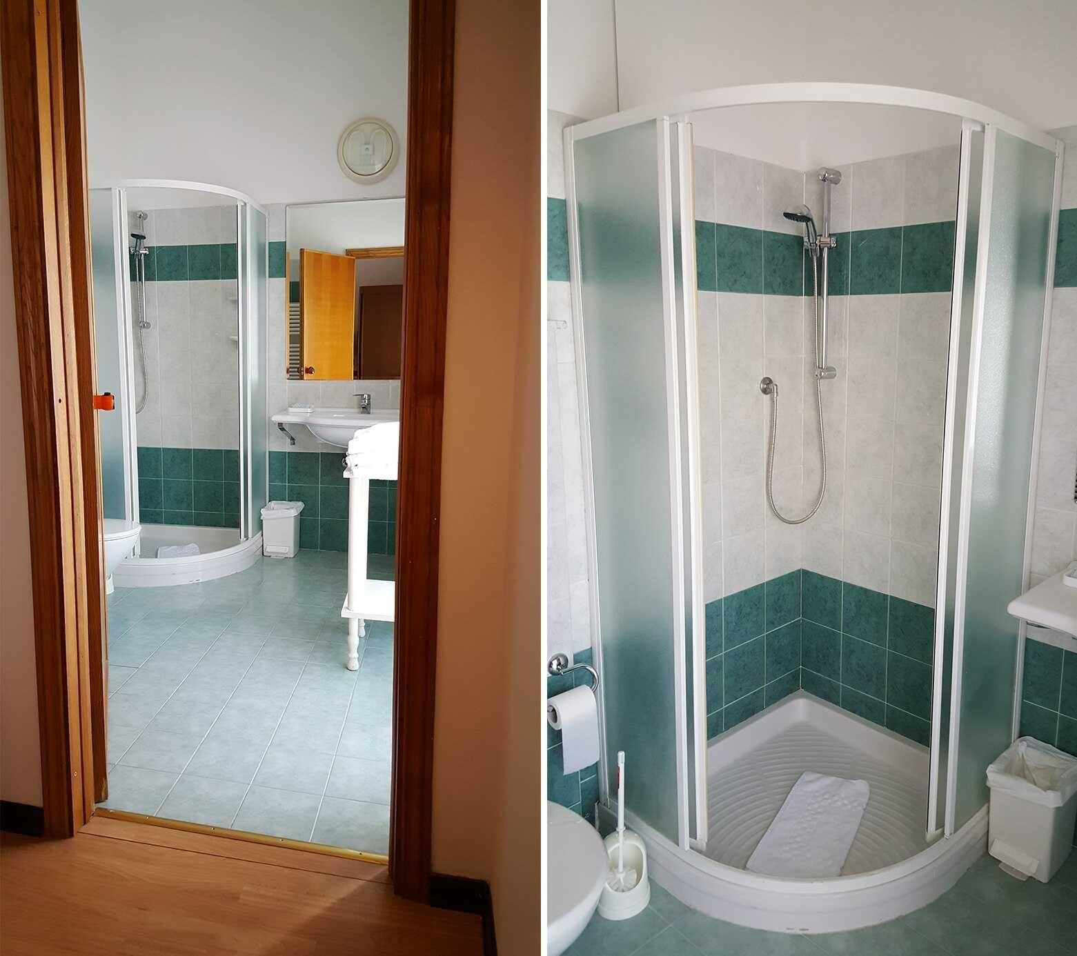 Soglia Marmo Porta Ingresso hotel accessible albergo angiolino, chianciano terme
